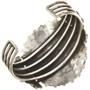 Turquoise Cluster Cuff Zuni Silver Bracelet 30471