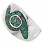 Indian Whirlwind Pattern Ring 3861