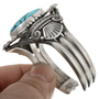 Sterling Silver Turquoise Bracelet 30512