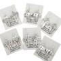Navajo Silver Cross Dangle Earrings French Hooks 30515