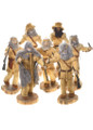 Vintage Mountain Man Statue Assorted Western Designs Limited Edition 30538