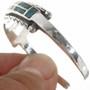 Navajo Inlay Sterling Silver Bracelet 30611