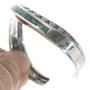 Sterling Silver Ladies Wave Bracelet 30612