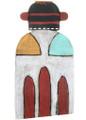 Flat Hopi Dragonfly Kachina Art 30649