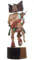 Intricate Wood Kachina Carving Hopi Made 1991 30653