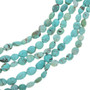 Oval Turquoise Bead Strands 30811