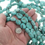 Blue Turquoise Jewelry Mineral Beads 30812
