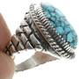 Sterling Silver Adobe Pattern Ring 30935