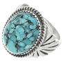 Turquoise Silver Ring 30939