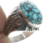 Native American Silver Ring 30940