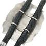 Navajo Hand Made Sterling Silver Bolo Tie 30941