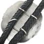 Native American Sterling Silver Bolo Tie 30943