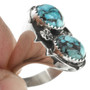Hand Crafted Silver Ring Navajo Artist Signed 30954