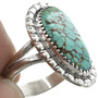 Sterling Silver Turquoise Ring 31103
