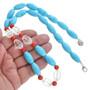 Turquoise Swarovski Crystal Beaded Necklace 31132