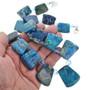 Blue Jasper Swarovski Crystal Necklace 31152