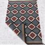 Serrated Diamonds Pattern Navajo Rug 31176