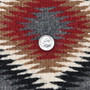 Finely Woven Wool Native American Rug 31176