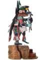 Carved Wood Kachina Dancer Sculpture 31188