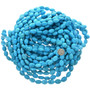 Turquoise Magnesite Oval Beads 30834