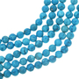 Blue Turquoise Magnesite Beads 30839