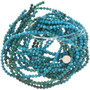 Blue Green Magnesite Beads 30848