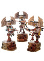 Milton Howard Carvings Owl Kachina Dolls 31250