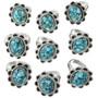 Turquoise Ladies Rings 31306