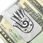 Healing Hand Design Navajo Money Clip 31313