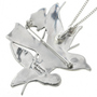 Sterling Silver Zuni Pendant Artist Signed 31344