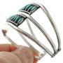 Sterling Silver Zuni Made Cuff Bracelet 31352