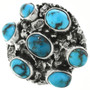 Turquoise Sterling Silver Ring 31366