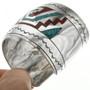 Native American Sterling Silver Bracelet 31503