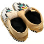 Natural Leather Navajo Tribe Moccasins 31504