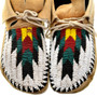 Native American Beaded Moccasins 31504