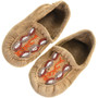 Vintage Yukon Territory Native American Leather Moccasins 31505