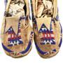 Original Native American Beaded Moccasins 31508