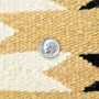 Natural Wool Navajo Made Wool Rug 31511