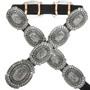 Navajo Silver Concho Belt 31444