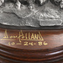Limited Edition Polland Pewter Sculpture 1986 Signed 31476