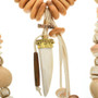 Bone and Antler Beaded Necklace 31480