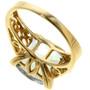 Topaz 10k Gold Ladies Ring 31489
