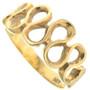 Vintage 14K Gold Infinity Style Ring Ladies