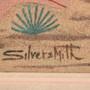 Kachina Sandpainting by Navajo Keith Silversmith