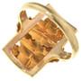 Grapevine Design Gold Vintage Ring 31701