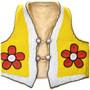 Vintage Plains Indian Beaded Leather Vest 31671