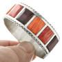 Sterling Silver Shell Zuni Bracelet 31780