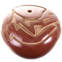 Santa Clara Seed Pot Redware 31819