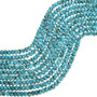 Genuine Campitos Turquoise Rondelle Beads 31919