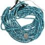 Genuine Spiderweb Turquoise Bead Strand 31927
